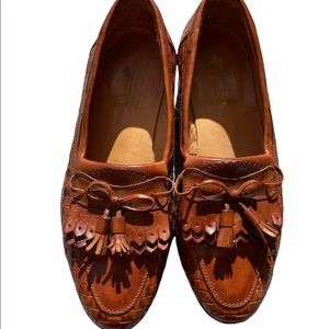 Brown Johnston & Murphy loafers Size 10.5